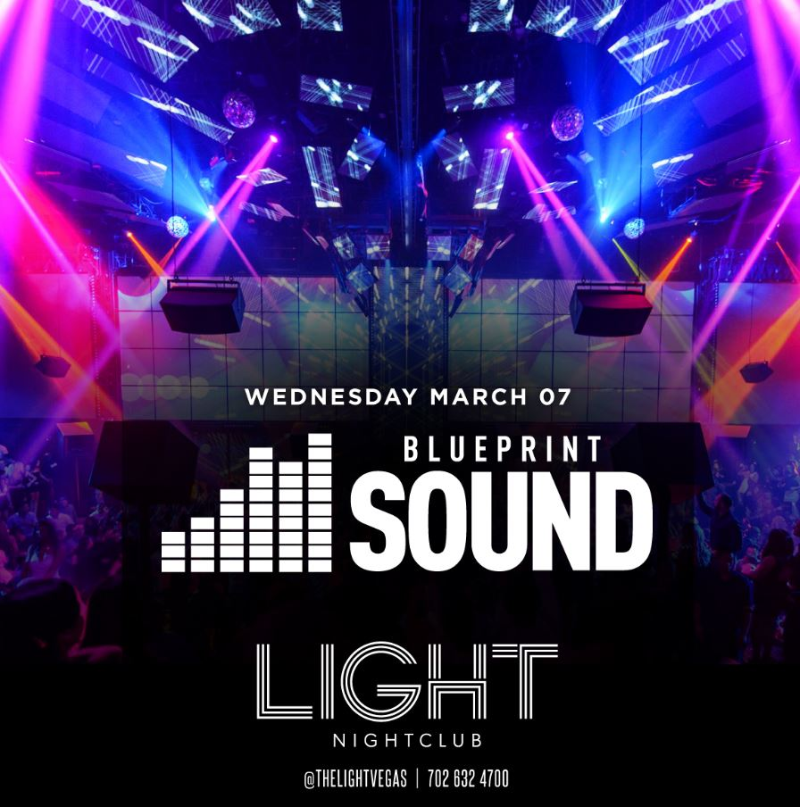 Light presents blueprint takeover wednesday march 07 2018 light nightclub presents blueprint takeover malvernweather Images