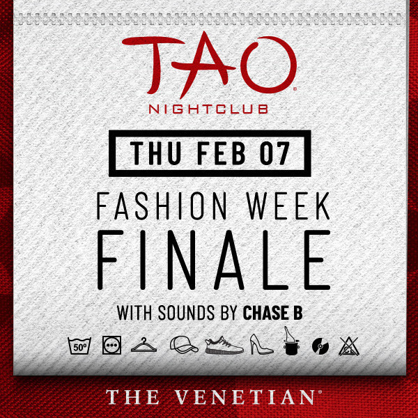 Chase Calendar February 2019 TAO PRESENTS: CHASE B Thursday, February 07, 2019